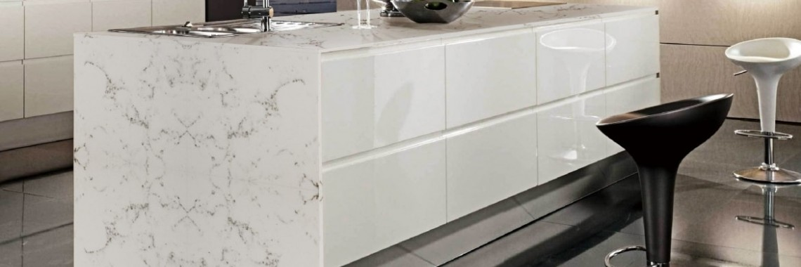 Carrara Quartz остров