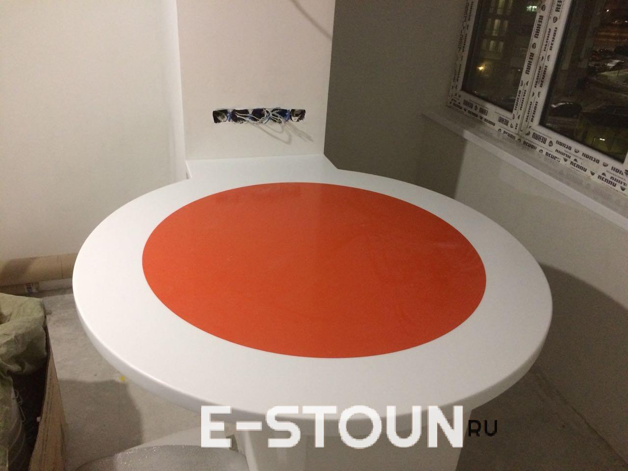 Подоконник из камня Hanex M005 от компании e-stoun.ru: цена и фото