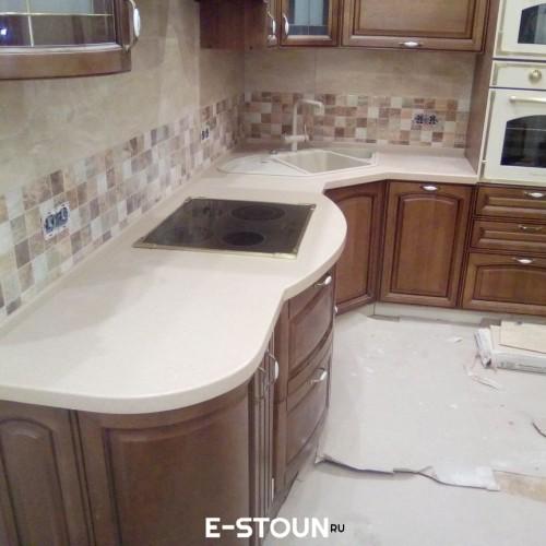 Столешница из искусственного камня на кухню