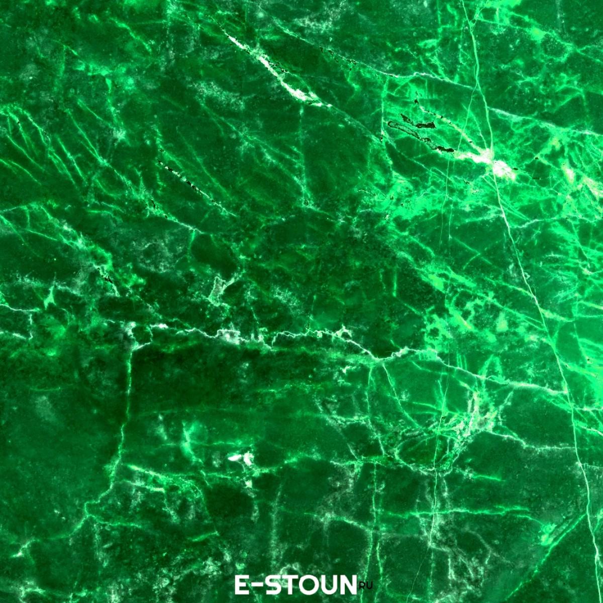 Столешница зеленый мрамор