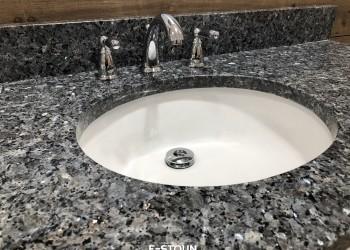 Гранитная столешница в ванную